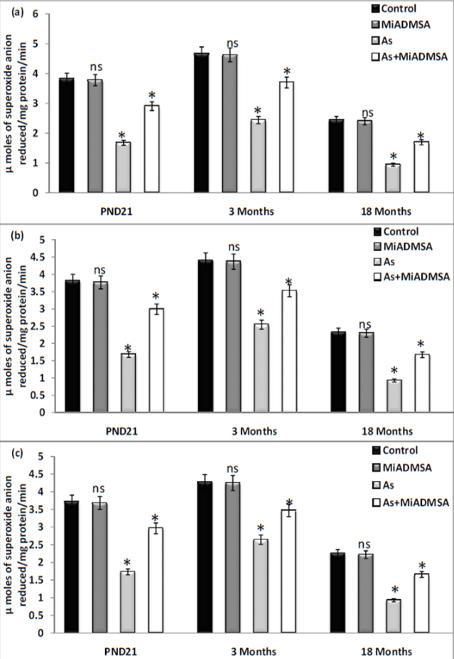 Influence of age on arsenic-induced mitochondrial oxidative
